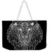 Night Lion Weekender Tote Bag