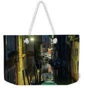 Night Walk In Venice Weekender Tote Bag
