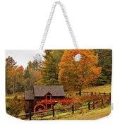 Old Crawford Farm Grist Mill Weekender Tote Bag by Jeff Folger