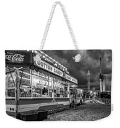 On The Midway - Temptations Of The Night 4 Bw Weekender Tote Bag