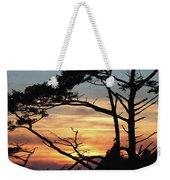 Oregon Coast Sunset Weekender Tote Bag