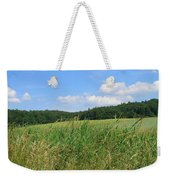 Photography Landscape With Fields In Germany Weekender Tote Bag