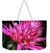 Pink Princess Bromeliad Weekender Tote Bag