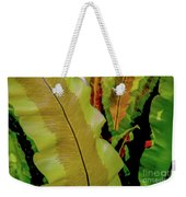 Plants And Leaves Hawaii Weekender Tote Bag