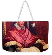 Pope Innocent X Weekender Tote Bag
