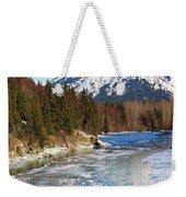 Portage Creek Portage Glacier Highway, Alaska Weekender Tote Bag