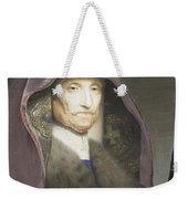 Portrait Of An Old Woman  Weekender Tote Bag