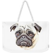 Pug Weekender Tote Bag