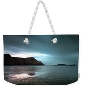 Rhossili Bay And Worms Head Weekender Tote Bag