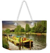 River Work Weekender Tote Bag