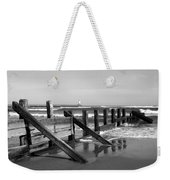 Sea Barrier Weekender Tote Bag