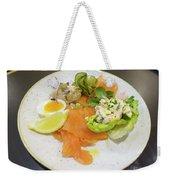 Seafood Platter Weekender Tote Bag