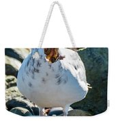 Seagull With Sail Weekender Tote Bag