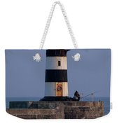 Seaham Lighthouse Weekender Tote Bag