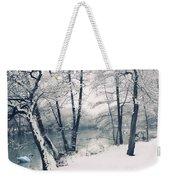 Snow Pond Weekender Tote Bag