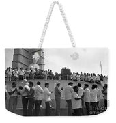 Jose Marti Memorial Weekender Tote Bag