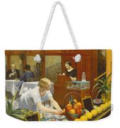 Tables For Ladies  Weekender Tote Bag