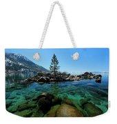 Tahoe Northern Island Weekender Tote Bag by Sean Sarsfield