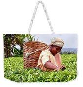 Tea Picker In Kenya Weekender Tote Bag