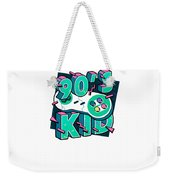 The 90s Gaming Born In The 90s Old Time Gaming Weekender Tote Bag
