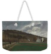 The Banks Of The Marne In Winter Weekender Tote Bag