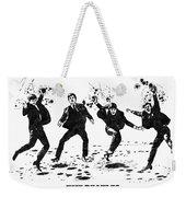 The Beatles Black And White Watercolor 01 Weekender Tote Bag