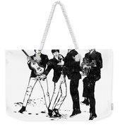 The Beatles Black And White Watercolor 02 Weekender Tote Bag