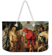 The Consecration Of Decius Mus        Weekender Tote Bag