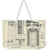 The Erie Land Lighthouse Weekender Tote Bag