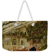 The Family Of Mr  Westfal In The Conservatory  Weekender Tote Bag