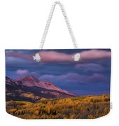The Whisper Of Clouds Weekender Tote Bag by John De Bord