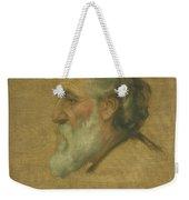 Title Sketch Of Alphonse Legros Weekender Tote Bag