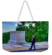Tomb Of The Unknown Soldier Painting Weekender Tote Bag