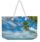 Tropical Beach, Siquijor Island Weekender Tote Bag
