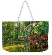 Tropical Corner Weekender Tote Bag