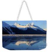 Turnagain Arm And Kenai Mountains Alaska Weekender Tote Bag
