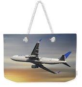 United Airlines Boeing 767-322 Weekender Tote Bag