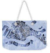 Venice Italy City Map Weekender Tote Bag