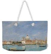 Venice, Santa Maria Della Salute From San Giorgio - Digital Remastered Edition Weekender Tote Bag