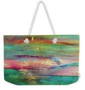 Vintage Sunset Weekender Tote Bag