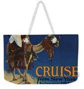 Vintage Poster -  Mediterranean Cruises Weekender Tote Bag