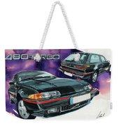Volvo 480 Turbo Weekender Tote Bag