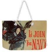 Wartime Propaganda Poster Weekender Tote Bag
