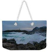 Waves Hitting The Rocks Weekender Tote Bag