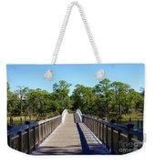 Western Lake Bridge Weekender Tote Bag