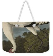 Whooping Crane  From The Birds Of America  Weekender Tote Bag
