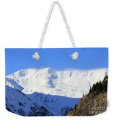 Wind Blows Over The Kenai Mountains Alaska Weekender Tote Bag