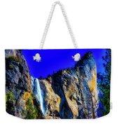 Winter Bridalveil Falls Weekender Tote Bag
