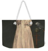 Young Lady In   Weekender Tote Bag