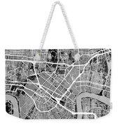 New Orleans Street Map Weekender Tote Bag